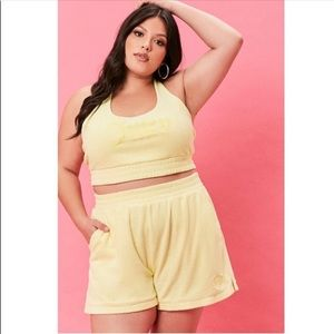 Yellow juicy couture shorts